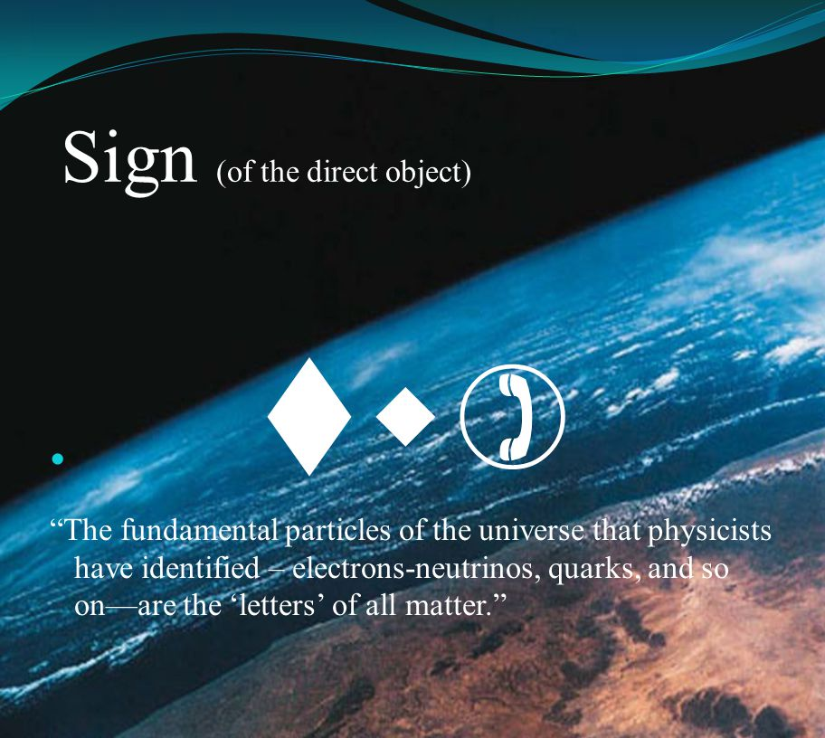 Sign (of the direct object)