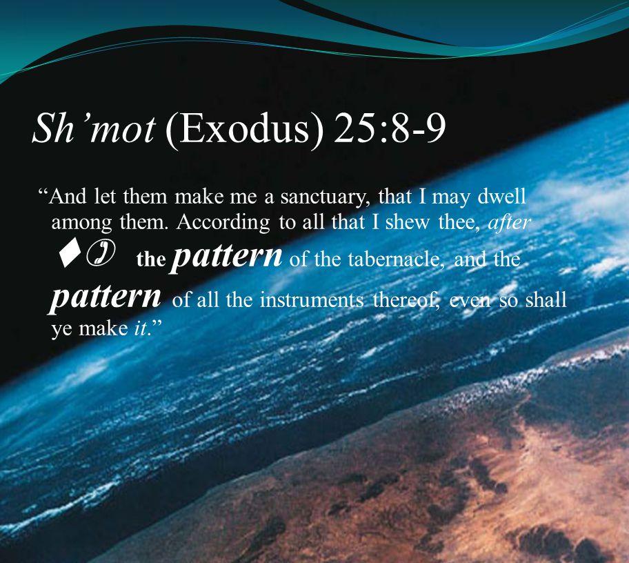 Sh'mot (Exodus) 25:8-9