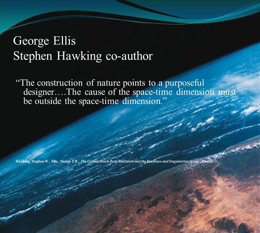 George Ellis Stephen Hawking co-author