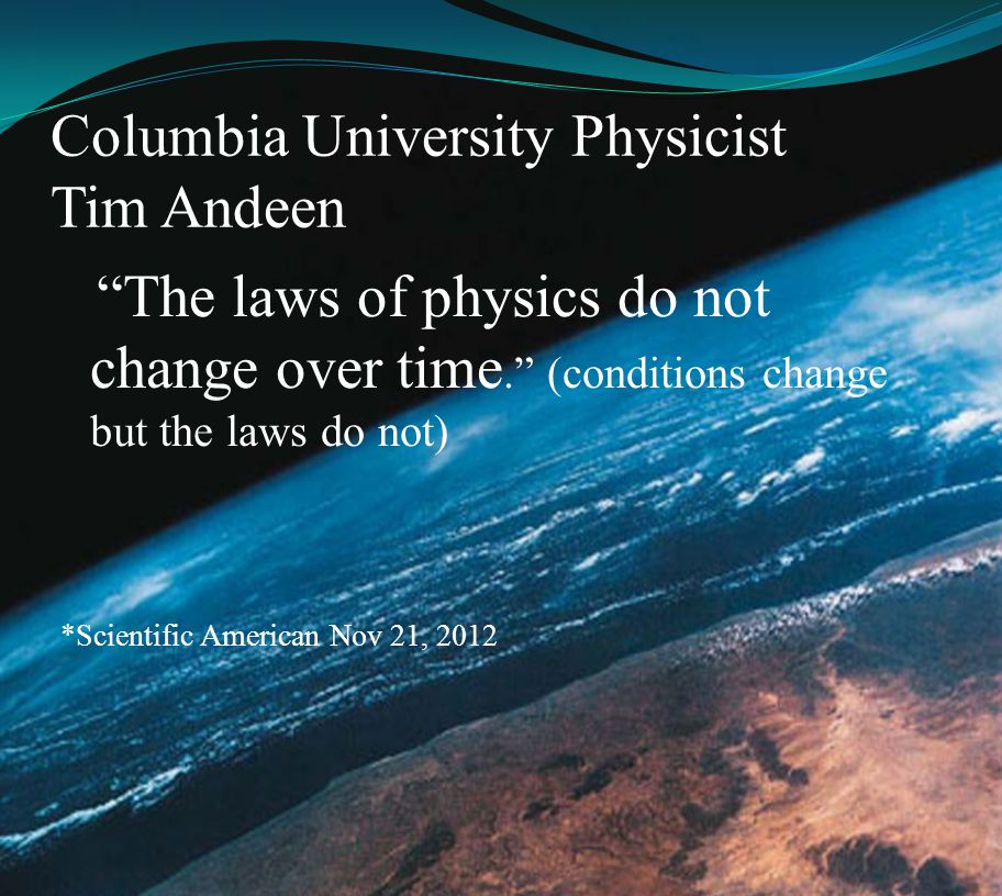Columbia University Physicist Tim Andeen