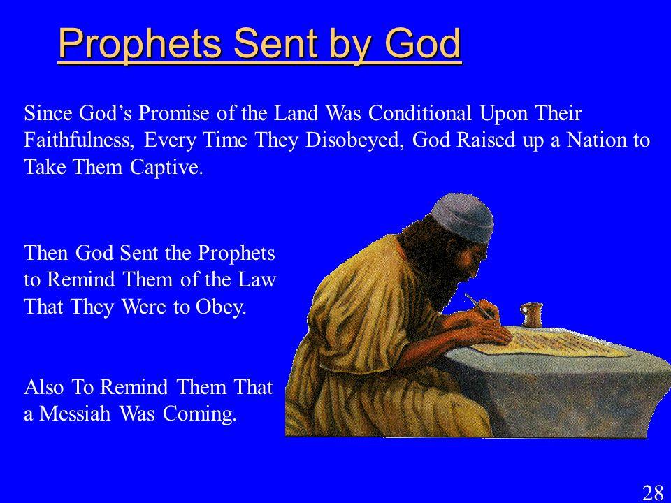 Prophets Sent by God
