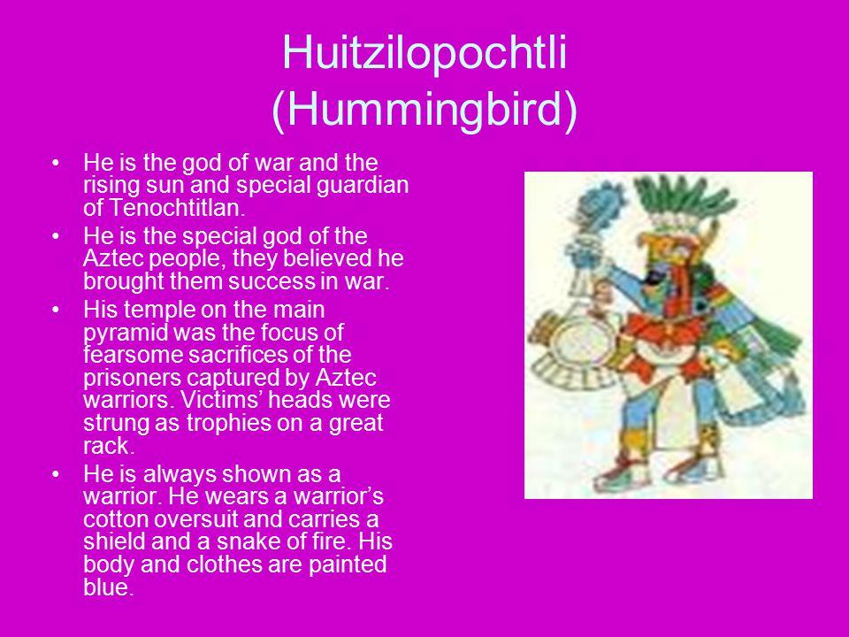 Huitzilopochtli (Hummingbird)