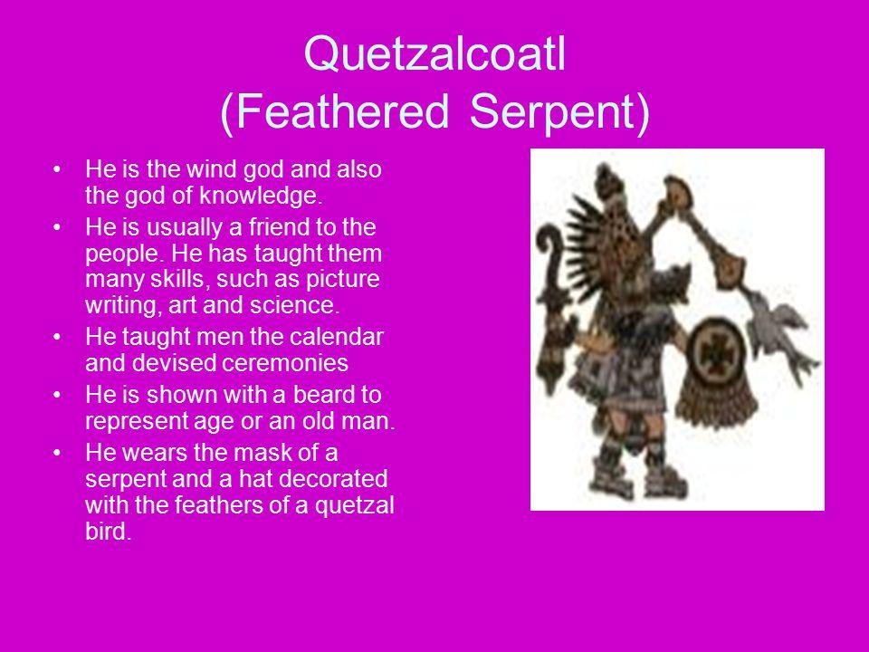 Quetzalcoatl (Feathered Serpent)
