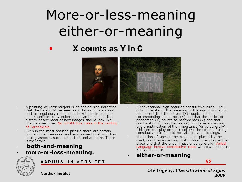More-or-less-meaning either-or-meaning