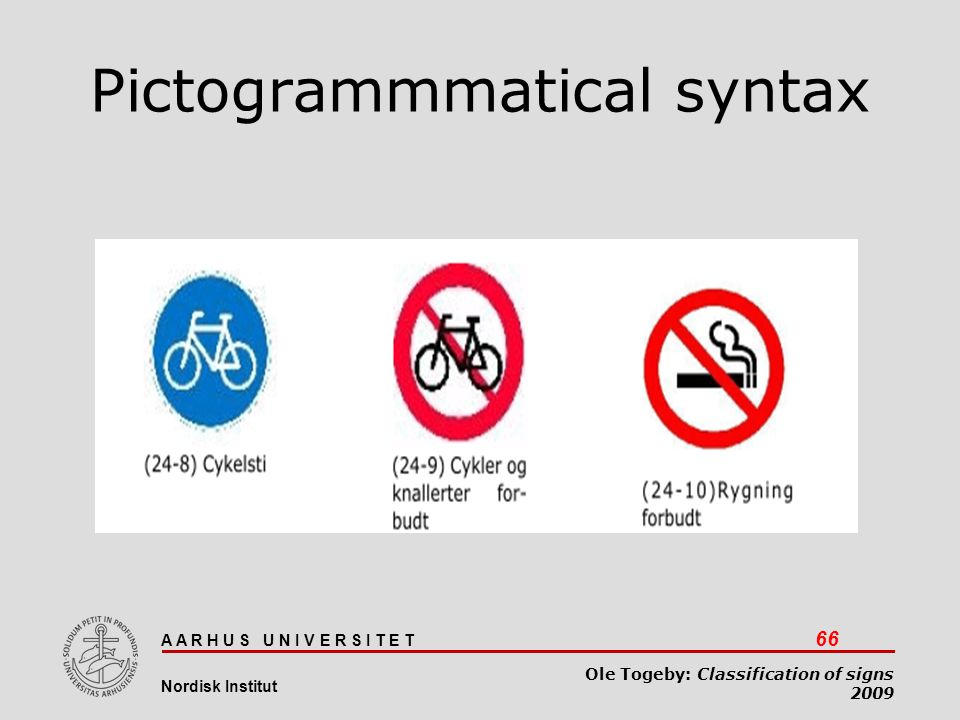 Pictogrammmatical syntax