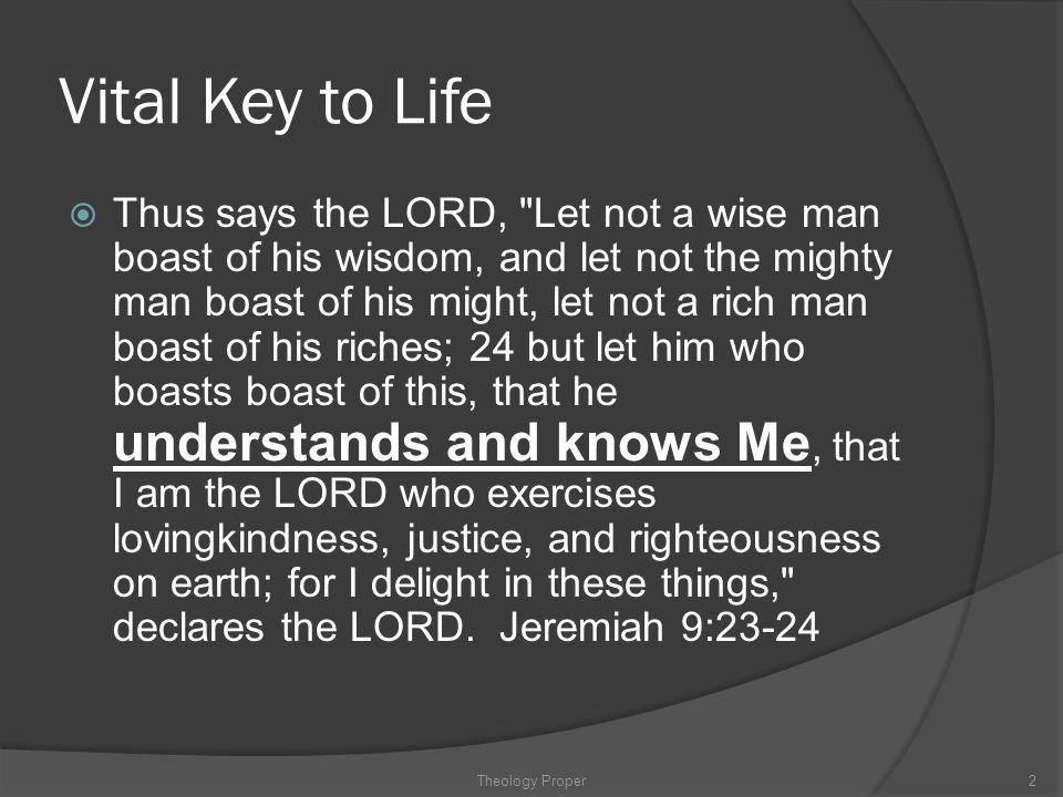 Vital Key to Life