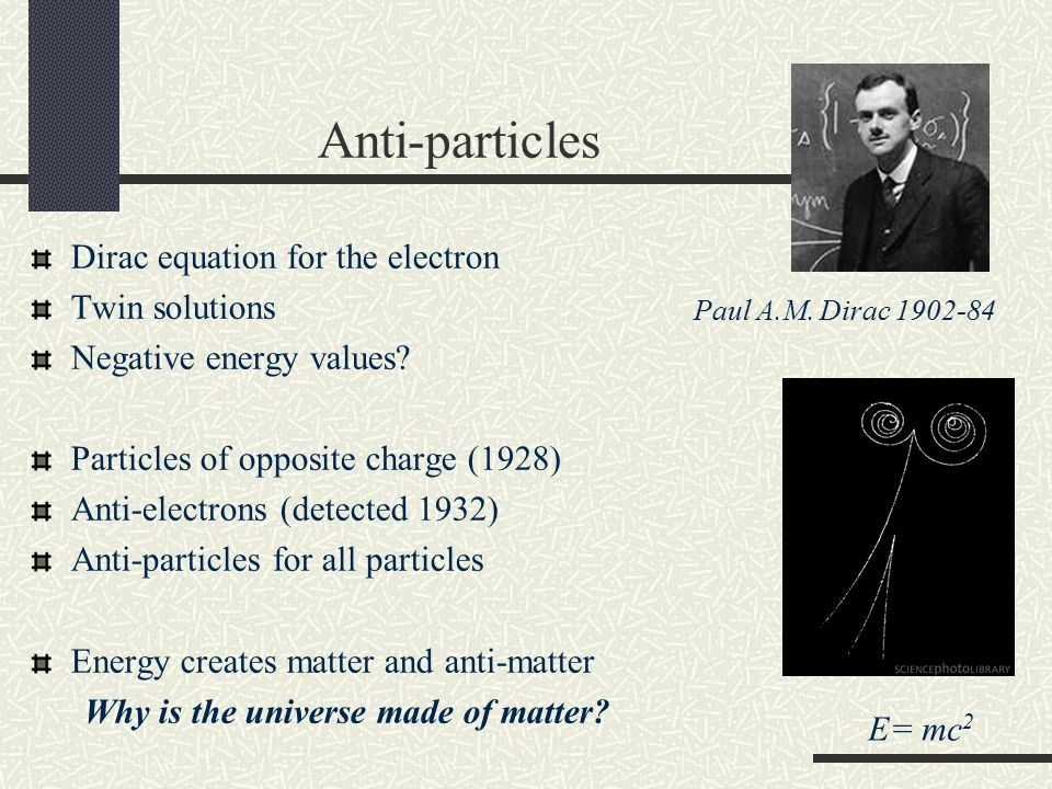 Anti-particles Dirac equation for the electron Twin solutions