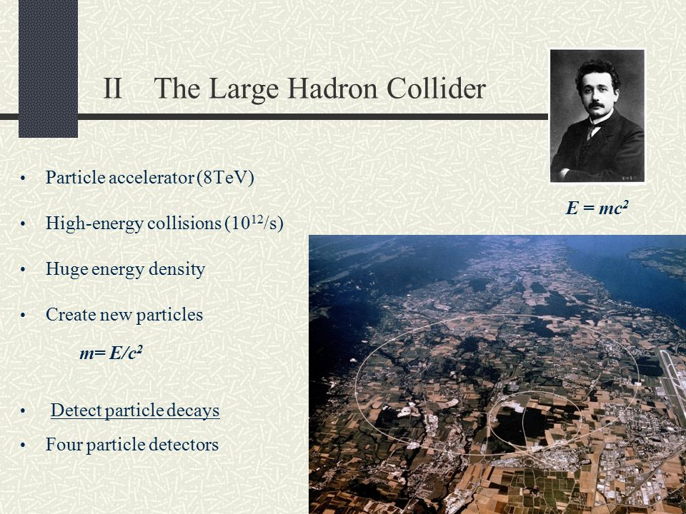 II The Large Hadron Collider