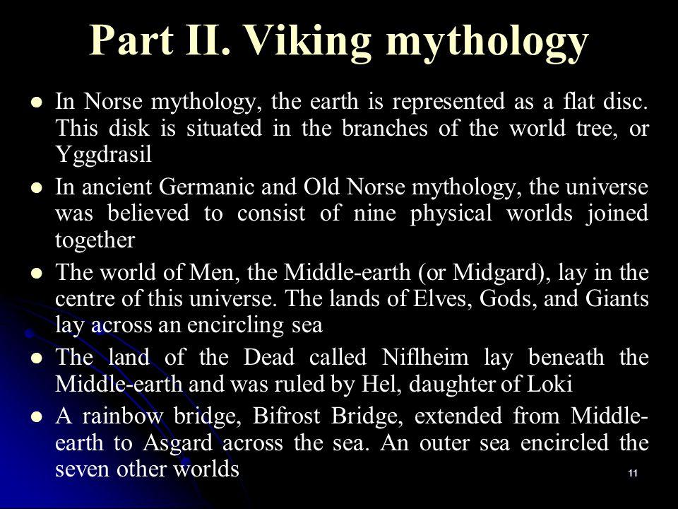 Part II. Viking mythology