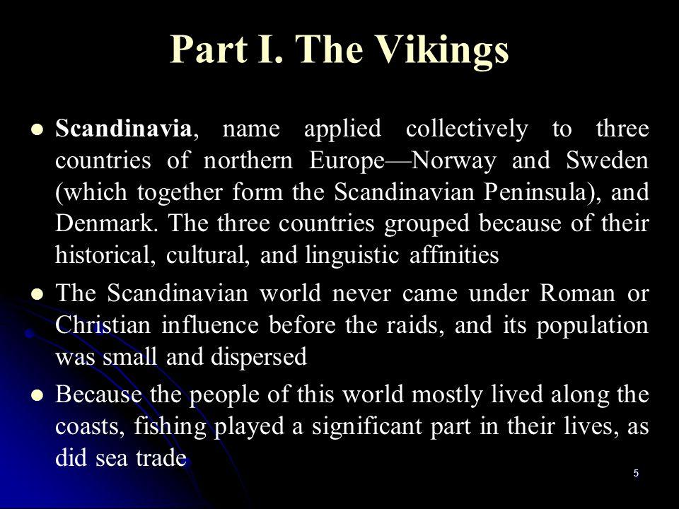 Part I. The Vikings