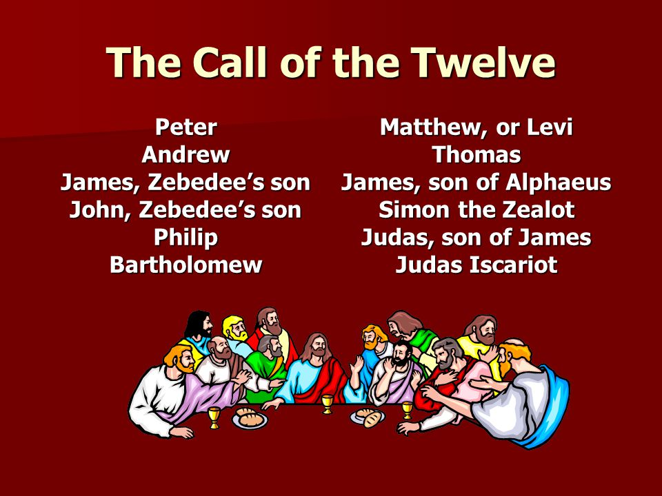 The Call of the Twelve