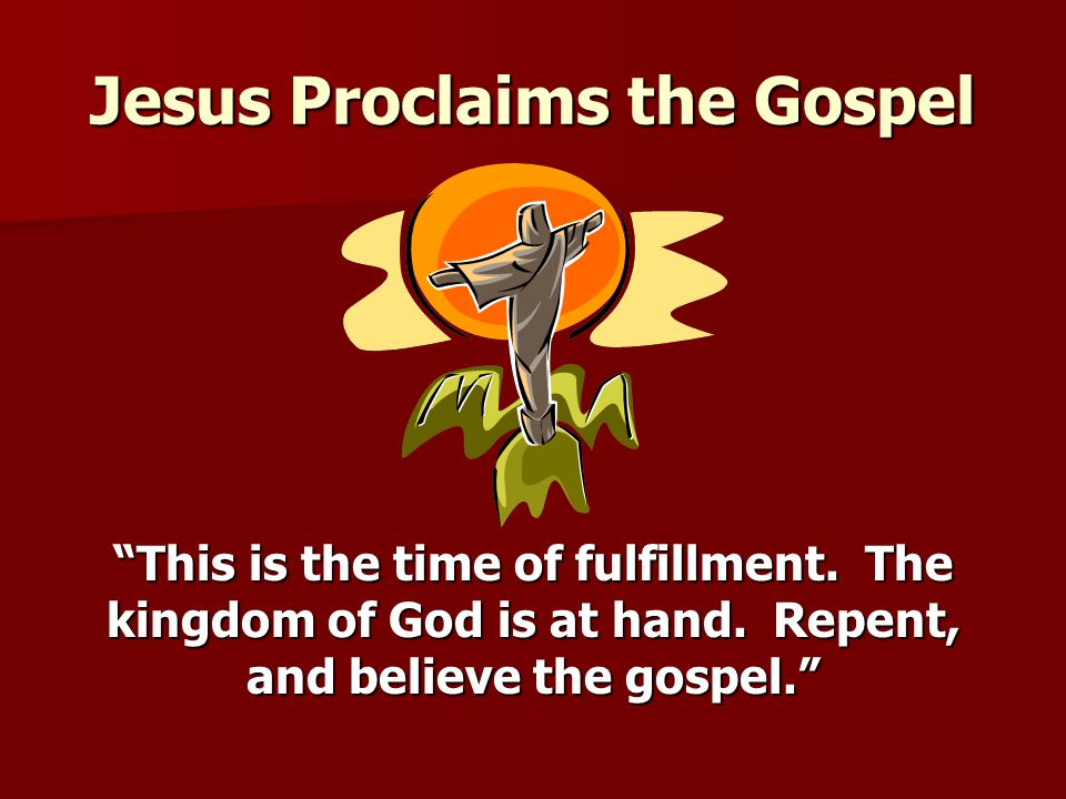 Jesus christ proclaims fulfillment of the scriptures - 2 10