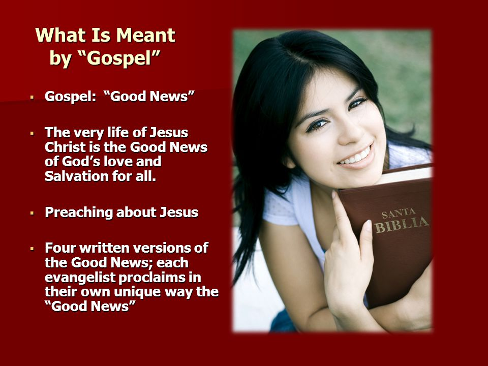 What Is Meant by Gospel
