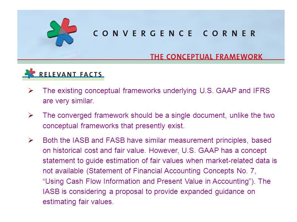 The existing conceptual frameworks underlying U. S