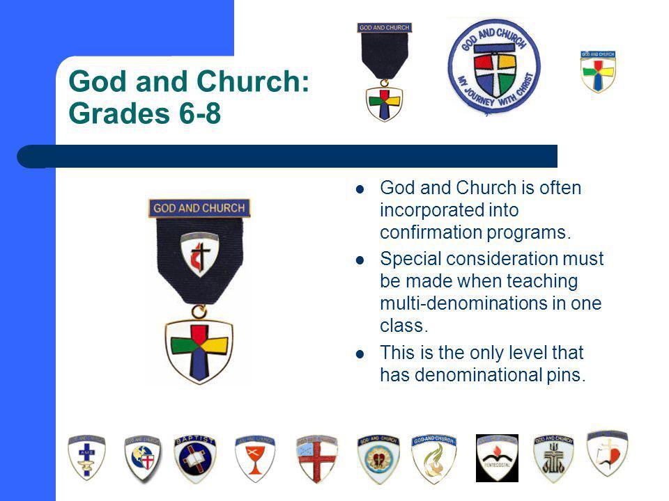 God and Church: Grades 6-8