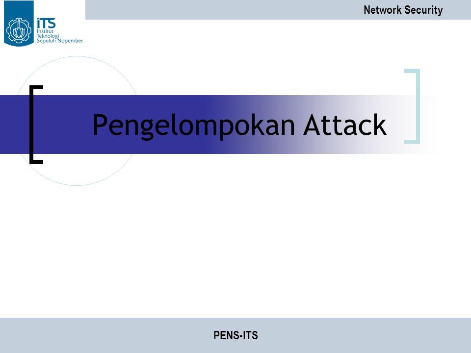Pengelompokan Attack PENS-ITS
