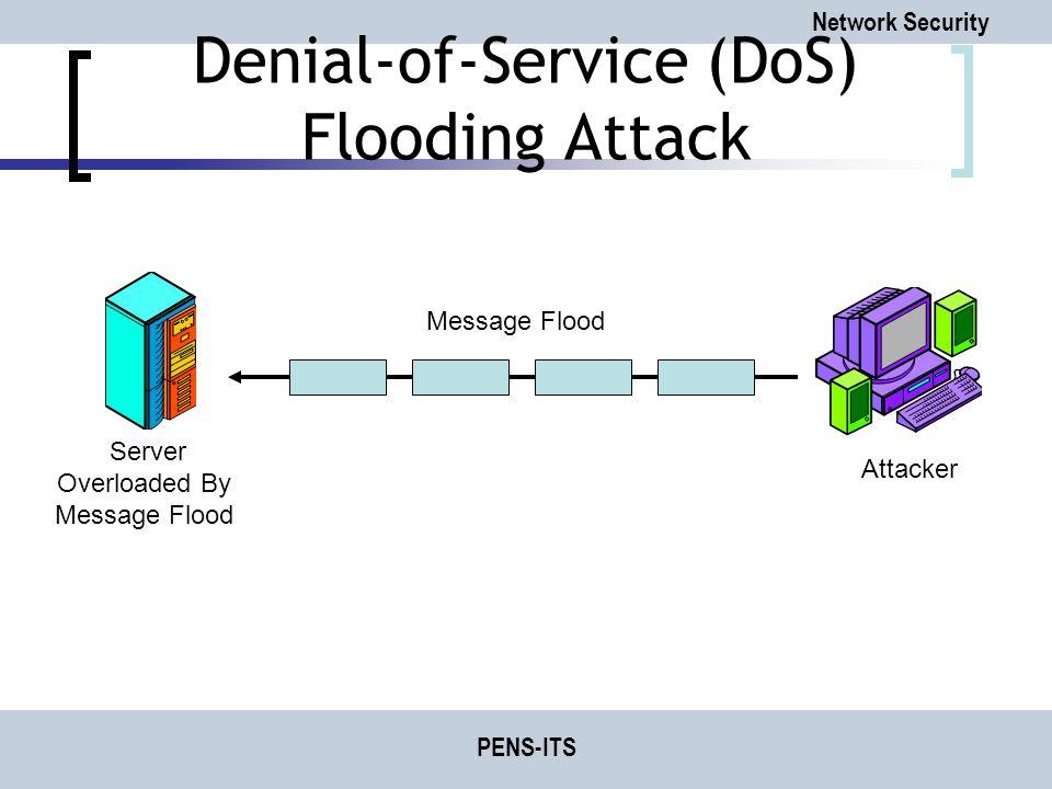 Denial-of-Service (DoS) Flooding Attack