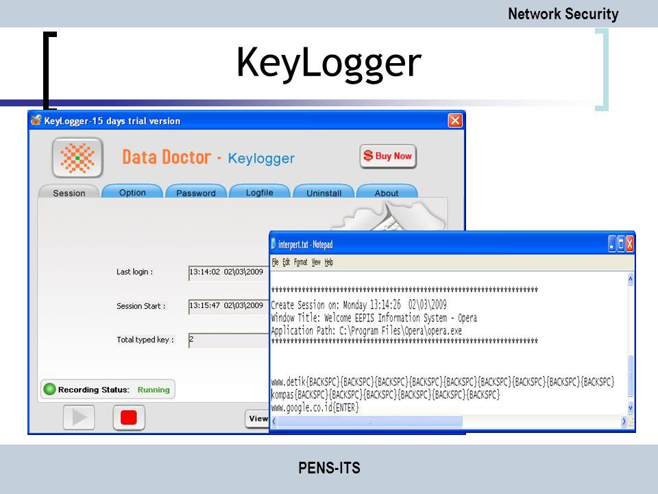 KeyLogger PENS-ITS