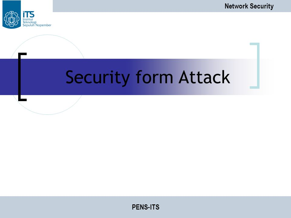 Security form Attack PENS-ITS
