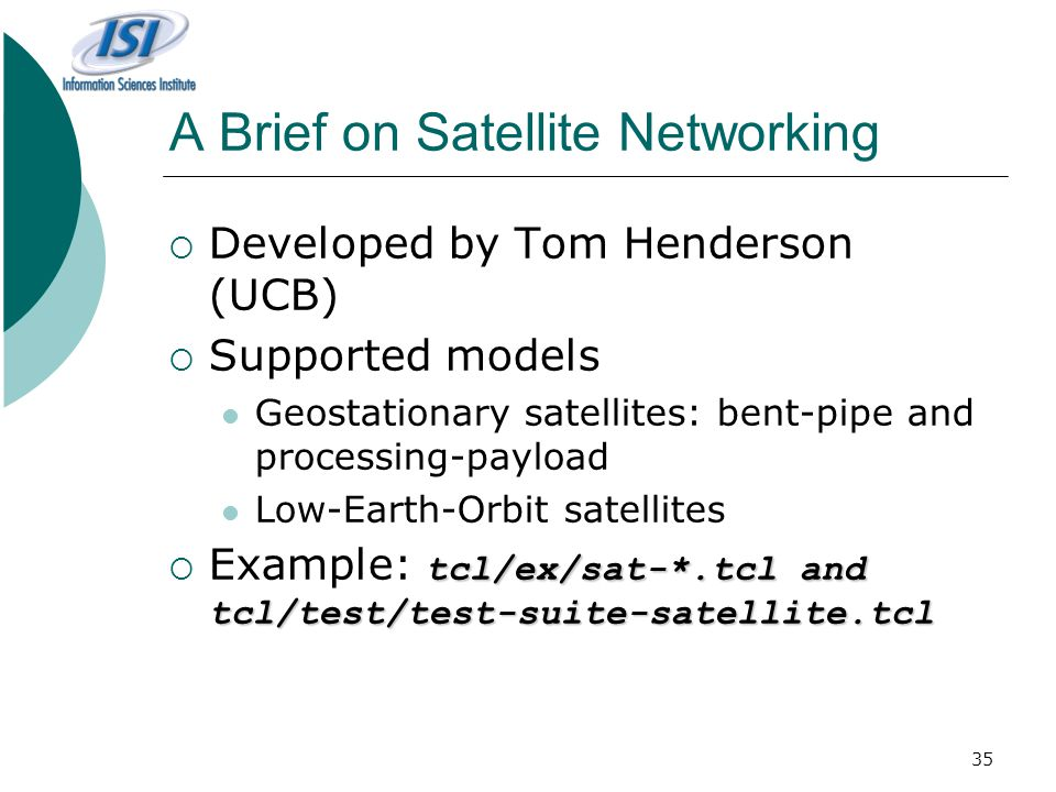 A Brief on Satellite Networking