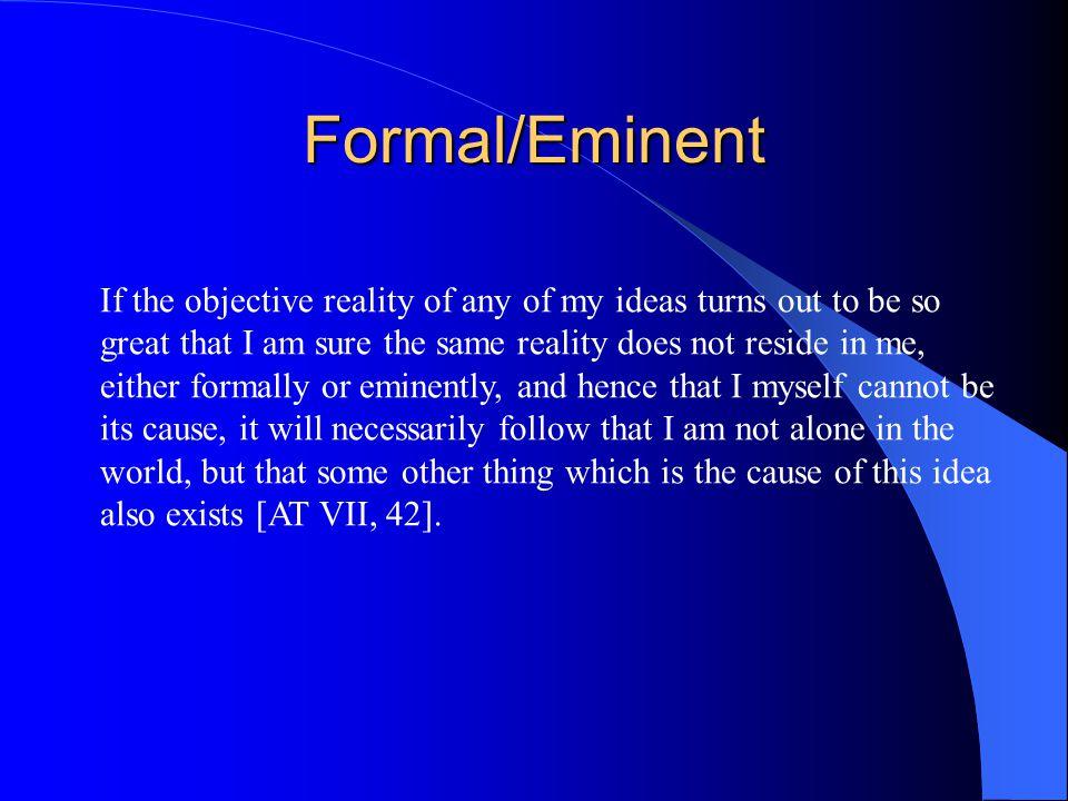 Formal/Eminent