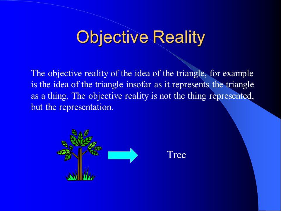 Objective Reality Tree