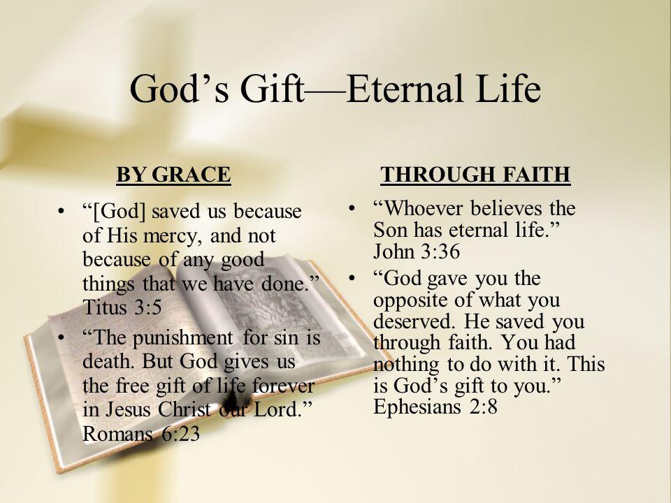 God's Gift—Eternal Life