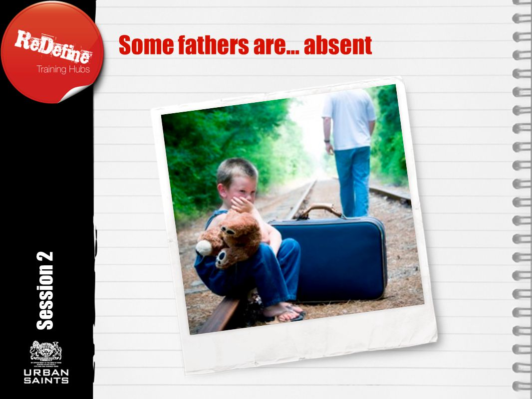 Some fathers are… absent