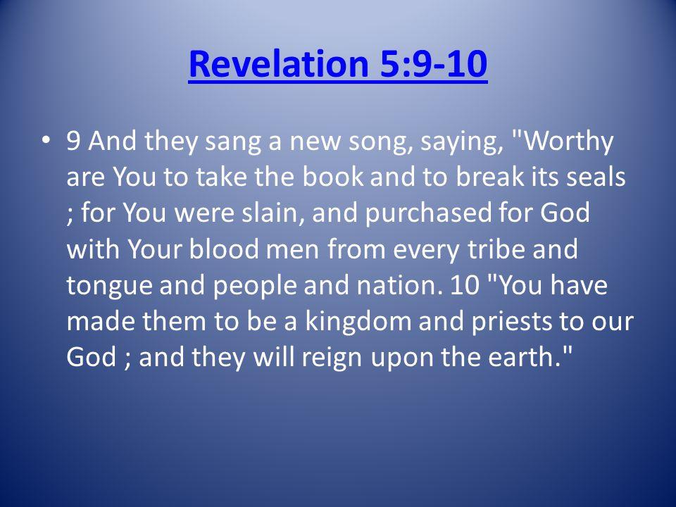 Revelation 5:9-10