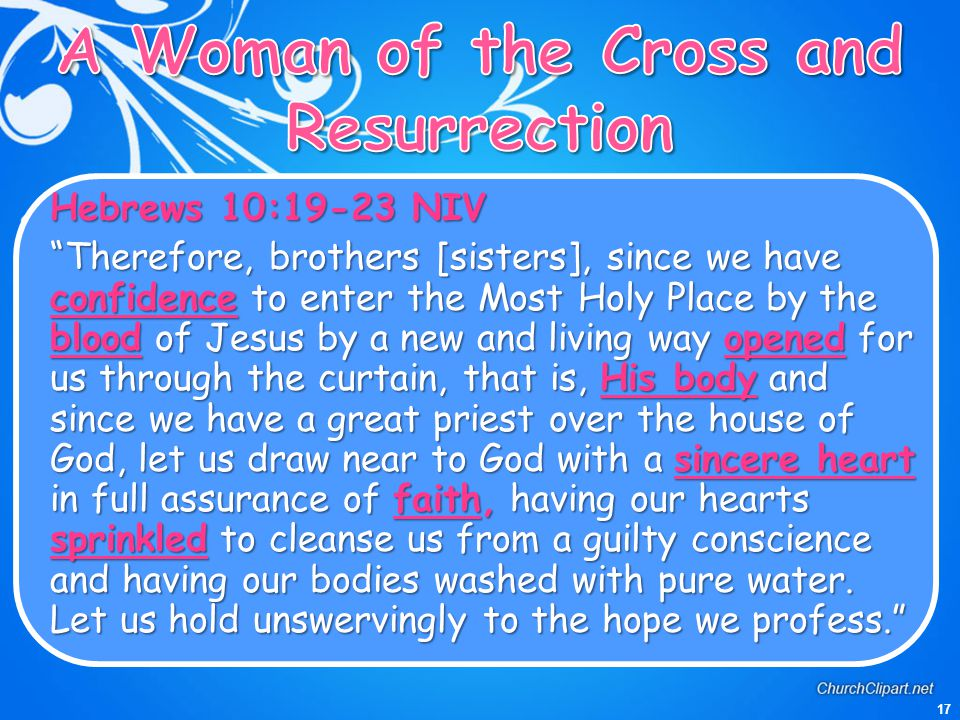 A Woman of the Cross and Resurrection