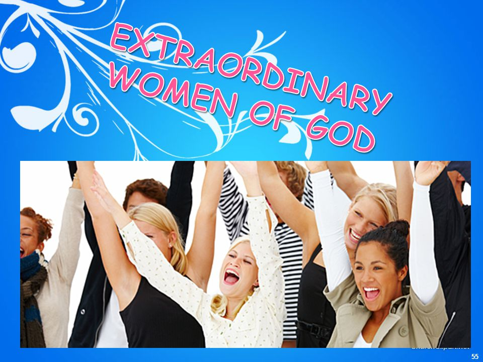 EXTRAORDINARY WOMEN OF GOD