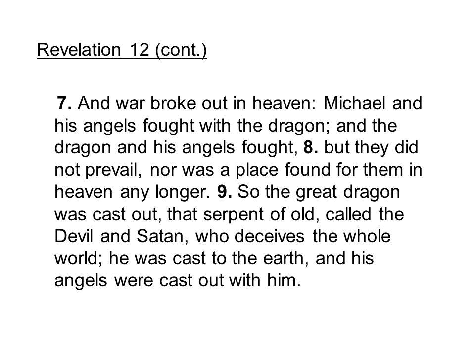 Revelation 12 (cont.)