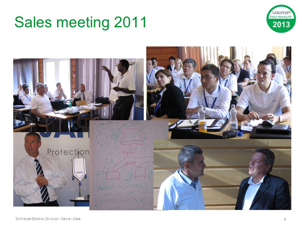 Sales meeting 2011