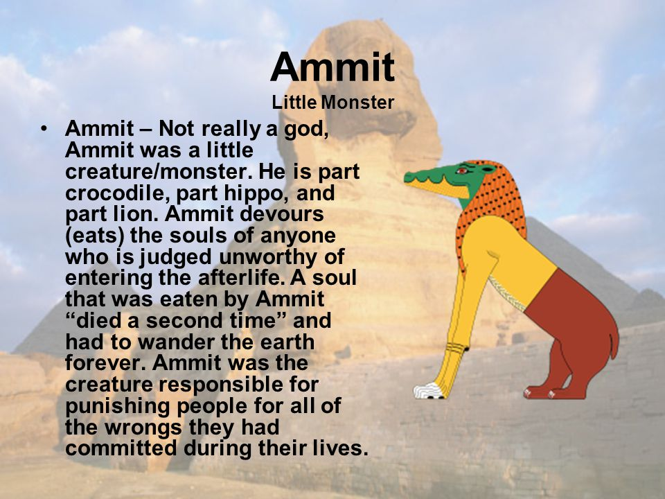 Ammit Little Monster