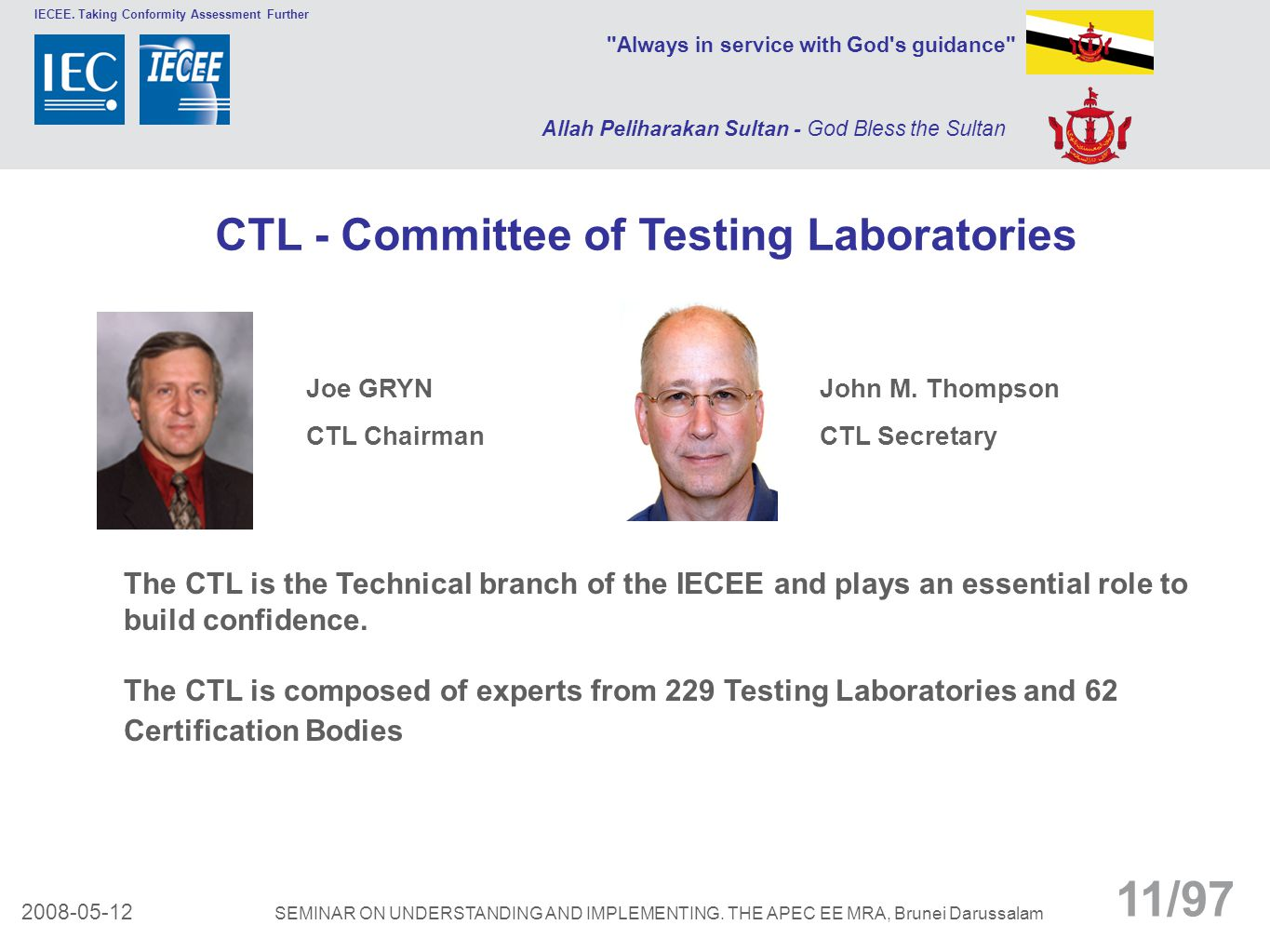 CTL - Committee of Testing Laboratories