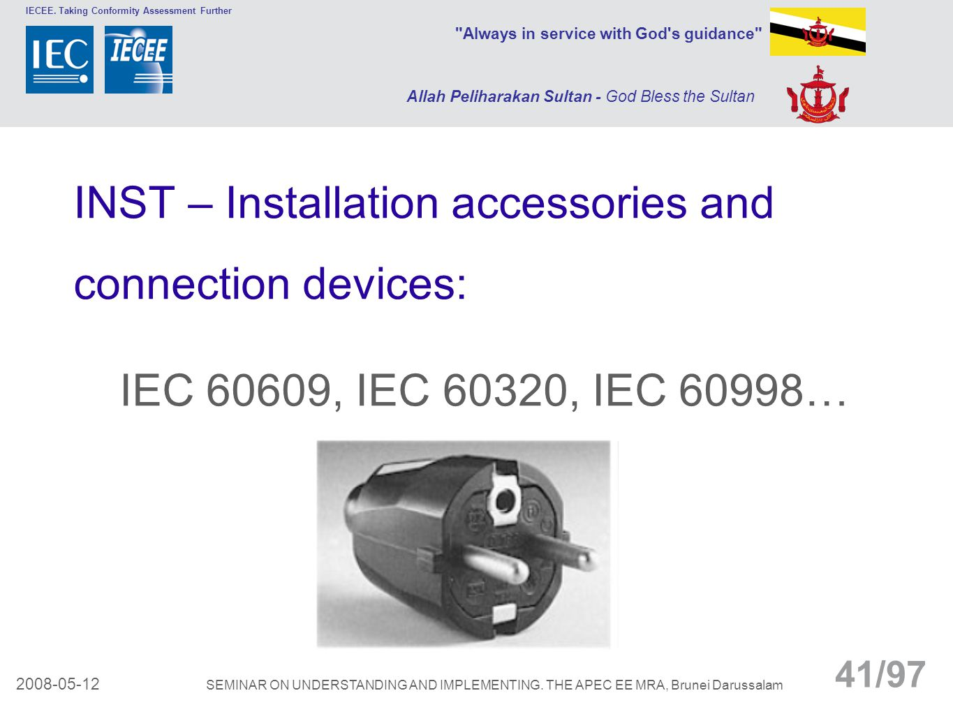 INST – Installation accessories and
