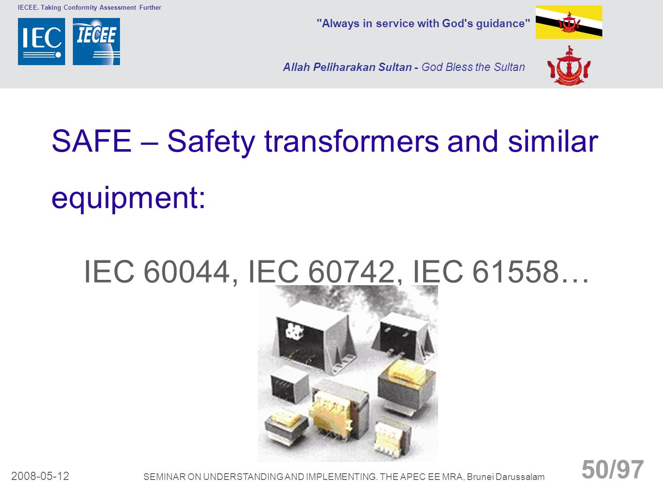 SAFE – Safety transformers and similar