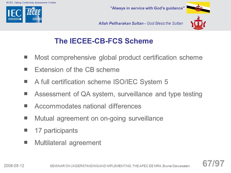 The IECEE-CB-FCS Scheme
