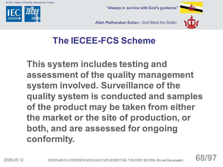 The IECEE-FCS Scheme