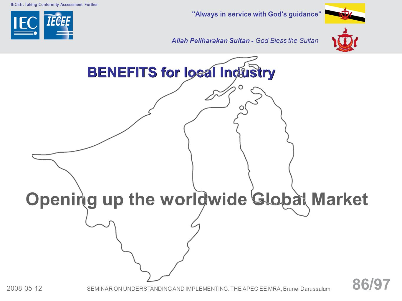 Opening up the worldwide Global Market
