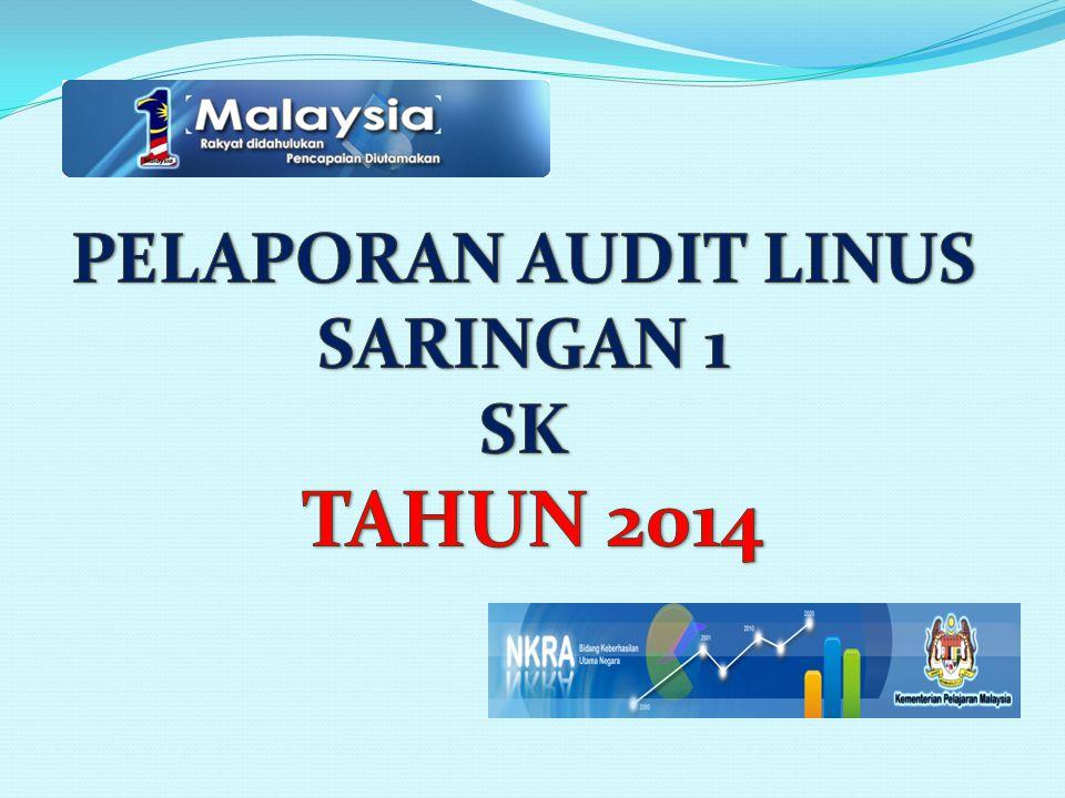 PELAPORAN AUDIT LINUS SARINGAN 1 SK TAHUN 2014