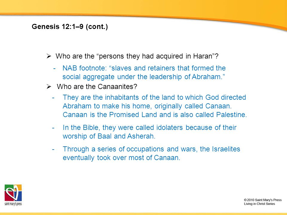 Who are the persons they had acquired in Haran