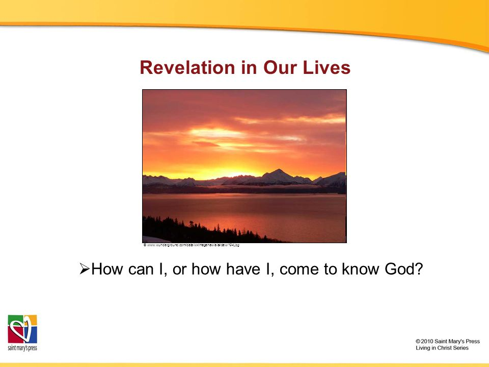 Revelation in Our Lives