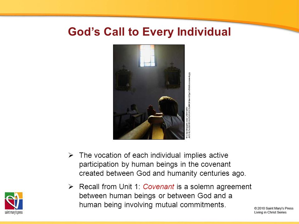 God's Call to Every Individual