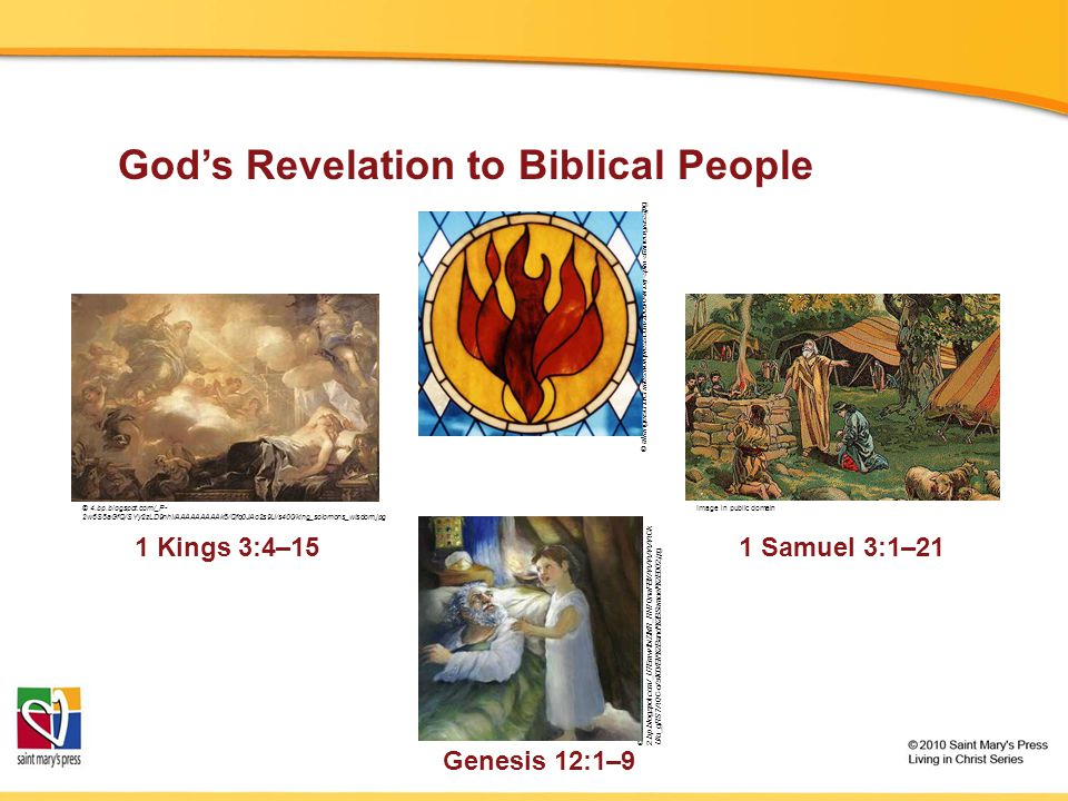 God's Revelation to Biblical People