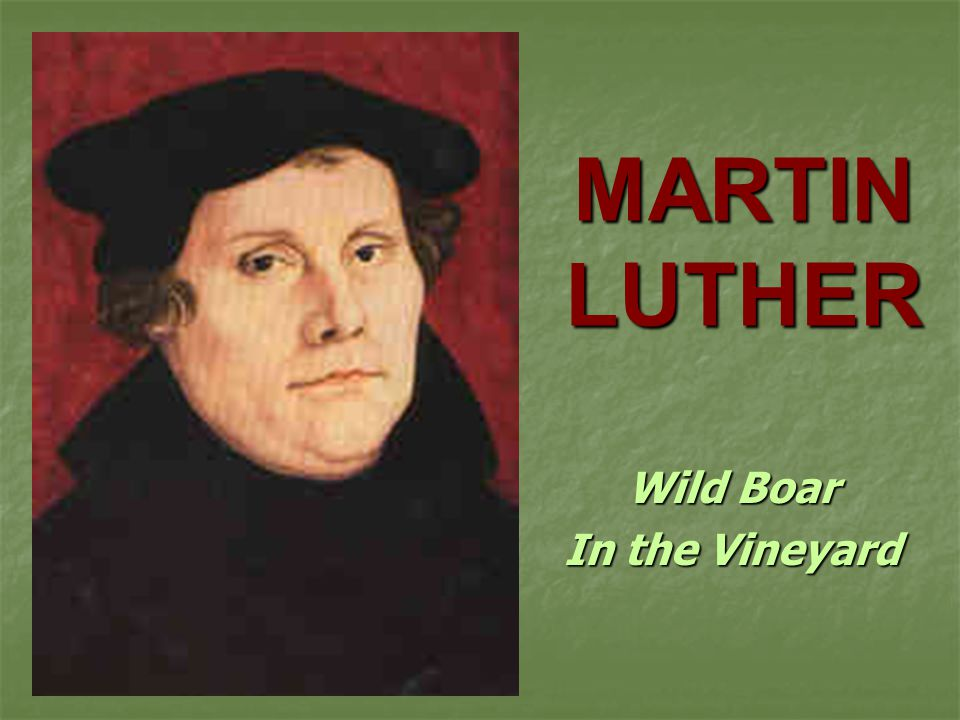an analysis of martin luther and his concept of christianity The dominant theological concept in luther's early work is the theology of martin luther on christian hope and the hope for eternal martin luther on faith.