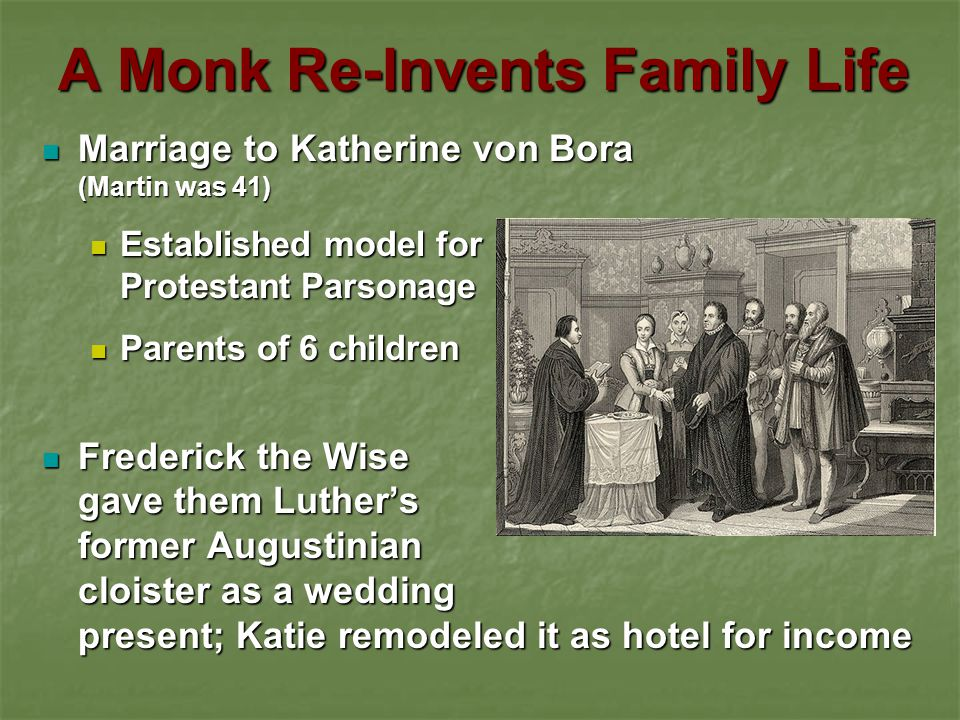 A Monk Re-Invents Family Life