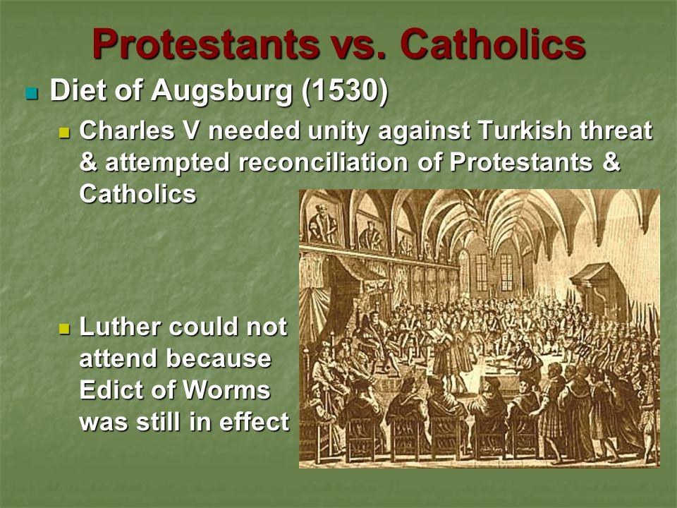 Protestants vs. Catholics