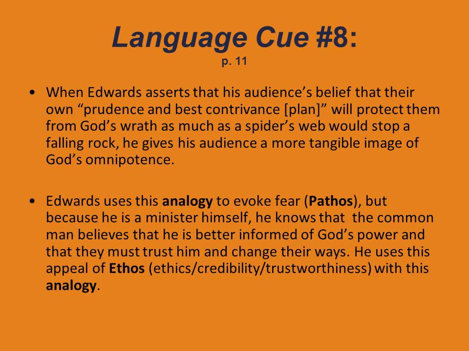 Language Cue #8: p. 11