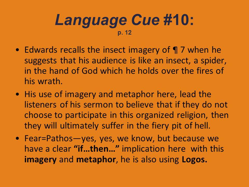 Language Cue #10: p. 12
